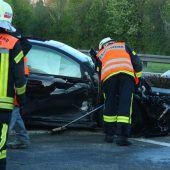 Auf der Rheintalautobahn kam es innerhalb von drei Stunden zu drei Unfällen. B1