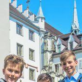 Buben freuen sich auf Riedenburg