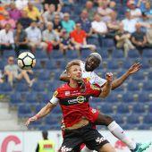 Für den SCR Altach setzte es in Salzburg eine Niederlage im Ausmaß von 1:3. C1