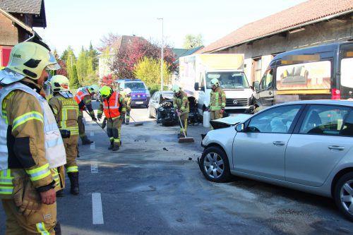 Der fatale Unfall im April 2018 in Lustenau zieht einen wahren Prozessmarathon vor Gericht nach sich. vlach