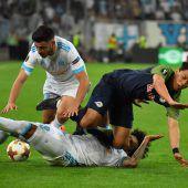 Salzburgs Bullen verloren intensives EL-Halbfinal-Hinspiel in Marseille 0:2. C1