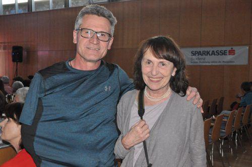 Fredy Lampacher und Gabriele Hutter genossen den unterhaltsamen Abend, der viele musikalische Gustostücke beinhaltete.
