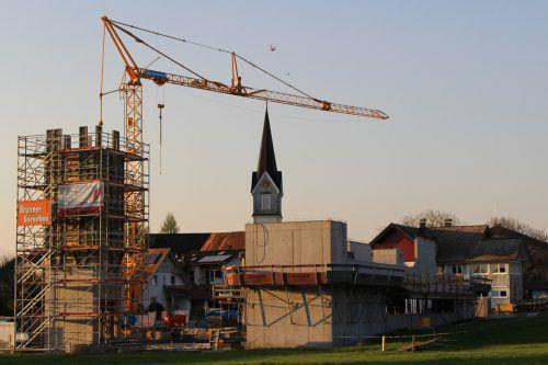 Für die Feuerwehr geht mit dem Neubau ein lang gehegter Wunsch in Erfüllung.
