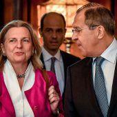 Außenministerin Kneissl trifft Amtskollegen Lawrow