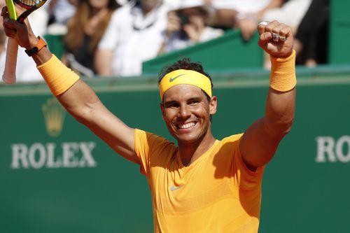 Für Nadal war es das erste Turnier auf der ATP-Tour, seit er im Jänner bei den Australian Open wegen Verletzung aufgegeben hat.AFP