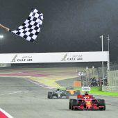 Mamma Mia! Zittersieg von Vettel