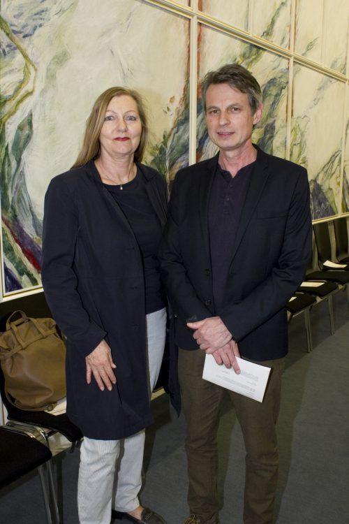GF Marie-Rose Rodewald und OM Wolfgang Mörth (Literatur Vorarlberg).