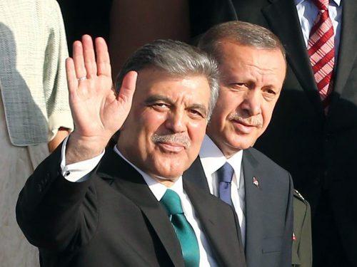 Gül (links) und Erdogan waren einst politische Freunde. AFP