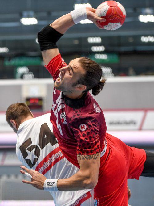 Hard-Abwehrspezialist Frederic Wüstner wechselt Ende der Saison zu Otmar St. Gallen und träumt nach seinem A-Teamdebüt von der Euro 2020. GEPA