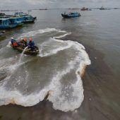 Ausnahmezustand wegen Ölteppich vor Borneo