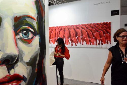 Im letzten Jahr wurden auf der Kunstmesse in Dornbirn, bei der auch eine Sonderschau der Marte.Marte-Architekten gezeigt wurde, 6100 Besucher gezählt. VN/CD