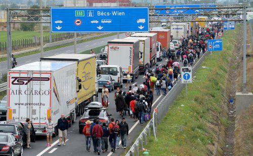 Im September 2015 startete die Flüchtlingsbewegung nach Österreich. Noch heute arbeitet das Bundesamt für Asyl die Anträge von damals ab.APA