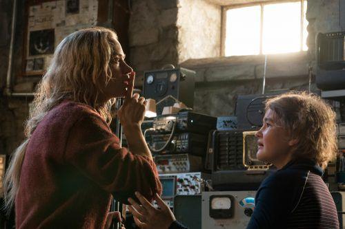 """In dem US-Thriller """"A Quiet Place"""" kämpft eine junge Familie nach einer Invasion außerirdischer Kreaturen ums Überleben. ap"""