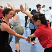 Tanzhaus Hohenems lud zum Mitmachen ein