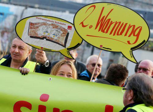 In Deutschland gehen die Warnstreiks im öffentlichen Dienst weiter. Apa