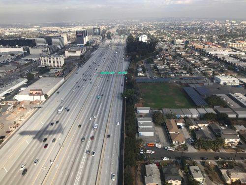 In Los Angeles ist die Luft am schlechtesten. AFP
