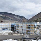 Gemeindezentrum im Herbst fertig