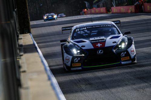 In Rennen zwei war Christian Klien gut eine halbe Stunde lang im Einsatz.efr