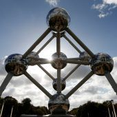 Das Atomium wird heute 60