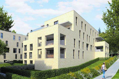 Interessierte und Anleger können die Musterwohnungen besichtigen.Bild: i+R Wohnbau