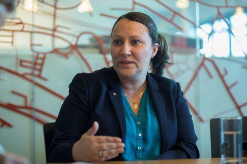 Jacqueline Nimmerfall stellt sich derzeit in den Bundesländern vor. vn/paulitsch