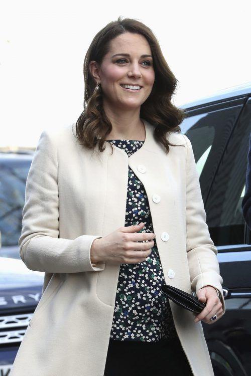 Kate wird auch ihr drittes Kind im St. Mary's Hospital zur Welt bringen. AP