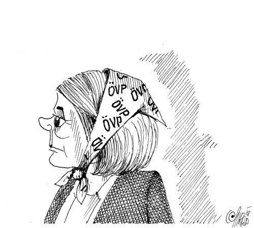 Kleine Kopftuchausnahme von Barbara Schöbi-Fink!