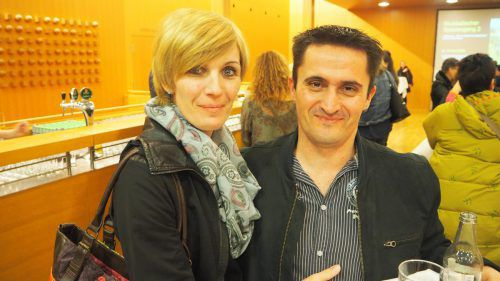 Machten sich einen schönen Abend: Barbara und Marcel.