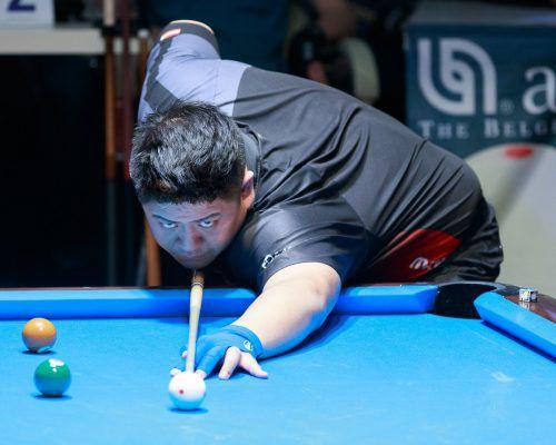 Nach einer tollen Siegesserie musste sich Mario He im EM-Halbfinale geschlagen geben. Die Freude über die Bronzemedaille hielt sich bei ihm aber in Grenzen.Vali
