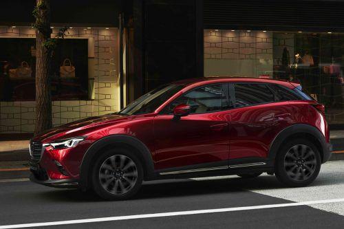 Mazda zeigt in New York den überarbeiteten CX-3.werk