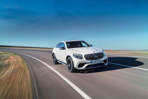 Mercedes-Benz GLC: Standardversion und Coupé sind durchwegs allradgetrieben, die Leistungsbandbreite spannt sich von 170 bis zu 510 PS.