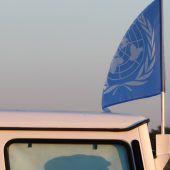Golan-Blauhelme entlastet