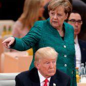 Heikle Gespräche mit US-Präsident