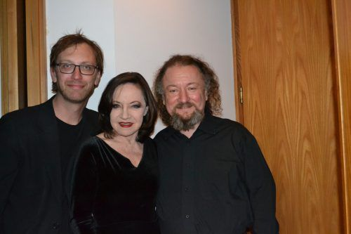 Michael Hornek, Maria Bill und Krzysztof Dobrek in Nüziders. Monika Bischof