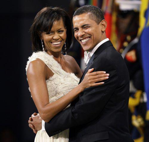 Michelle und Barack Obama beglückwünschten Prinz William und Herzogin Kate zur Geburt ihres dritten Kindes. AP