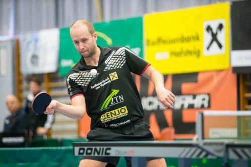 Miro Sklensky war mit 38:6 Siegen top in der Einzelrangliste. VN/Sams
