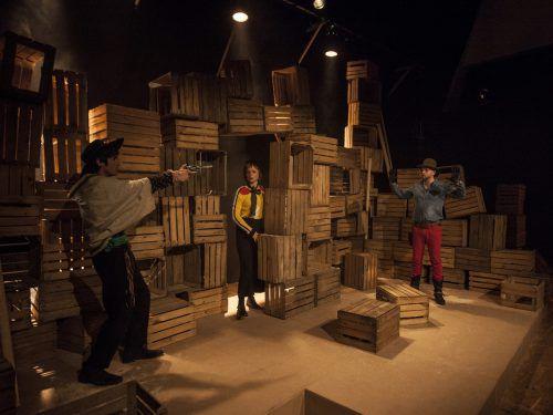 "Mit ""Billy de Kid"" von Herman van de Wijdeven ist das Landestheater ins Dornbirner Kulturhaus gezogen. LT/Sebastian Hoffmann"
