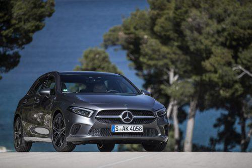 Mit der vierten Generation peilt die neue A-Klasse von Mercedes-Benz die Poleposition im Segment an.werk