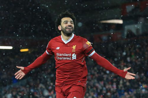 Mohamed Salah steht heute beim Champions-League-Duell im Fokus. Letzte Saison noch bei AS Roma, soll er heute seinen Klub FC Liverpool in Richtung Finale schießen.gepa