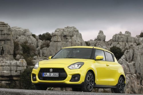 Muskulöser Auftritt, athletischer Fahreindruck: Suzuki hat dem Swift Sport erstmals einen Turbobenziner spendiert.werk