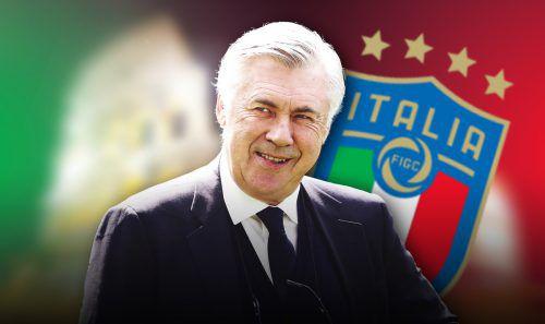 Noch im Dezember hatte Carlo Ancelotti abgesagt.gepa