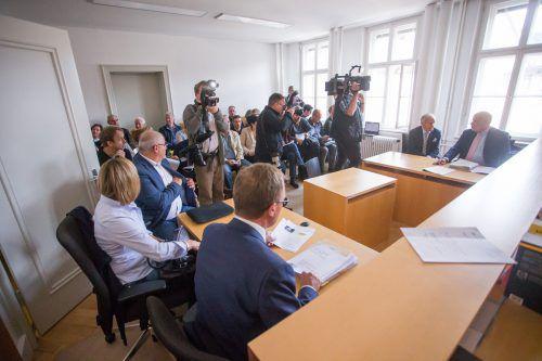 Noch ist ungewiss, wann der Prozess im Bezirksgericht in Bludenz fortgesetzt wird.VN/Steurer