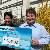 Über 4500 Euro für Geben für Leben