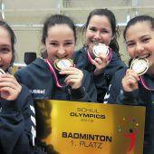 Goldener Doppelpack bei Schul Olympics