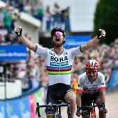 Erster Erfolg für Weltmeister Sagan in Hölle des Nordens
