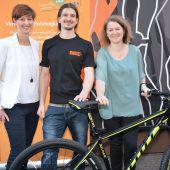Fahrradgewinn dank Mehrwertkarte