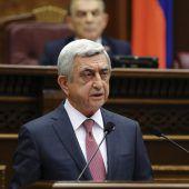 Armeniens Premier reicht Rücktritt ein