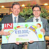 Interspar unterstützt SOS-Kinderdorf