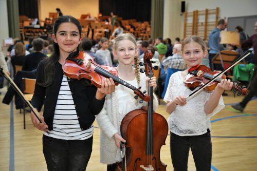 Schüler der Musikschule Rankweil-Vorderland demonstrierten in Meiningen ihr erlerntes Können. ETU