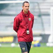 """<p class=""""caption"""">Seine ersten Schritte als Chefcoach machte Hütter 2009 in Altach.</p>"""